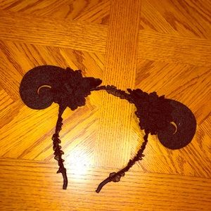 🖤 Horns headband gothic